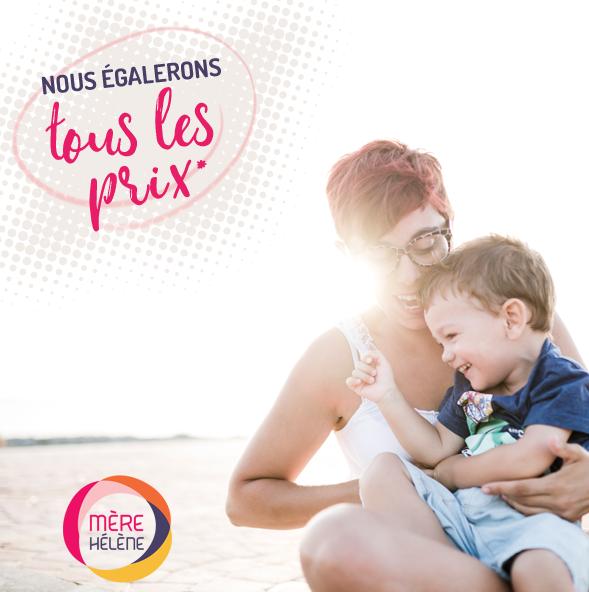 Mère Hélène égalera TOUS les prix des compétiteurs québécois ayant une boutique en ligne